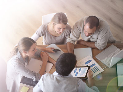 hiring solutions meeting